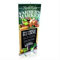 "Narrow Base - 33"" x 80"" Banner Stand"