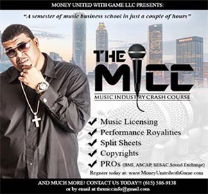 The MICC (Music Industry Crash Course)