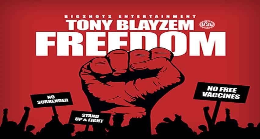 Freedom By Tony Blayzem ft Lamont Starr
