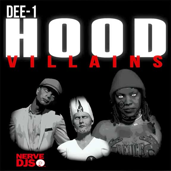 Dee-1 - Hood Villains (Official Lyric Video)