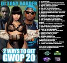 Nervedjs Mixtapes Presents Dj Tony Harder 2Ways To Get Gwop20